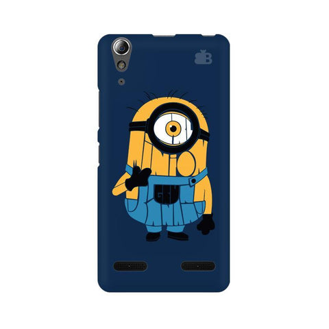 Minion Typography Lenovo A6000 Phone Cover
