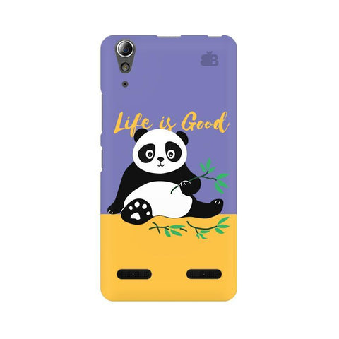 Panda Life is Good Lenovo A6000 Phone Cover