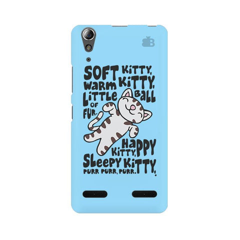 Soft Kitty Lenovo A6000 Phone Cover