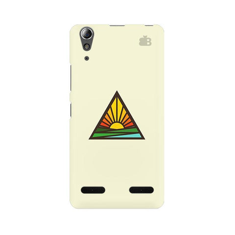 Triangular Sun Lenovo A6000 Phone Cover