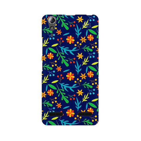 Vibrant Floral Pattern Lenovo A6000 Phone Cover