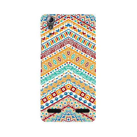 Wavy Ethnic Art Lenovo A6000 Phone Cover