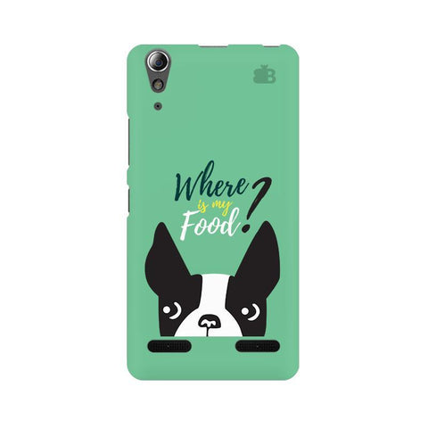 Where is my Food Lenovo A6000 Phone Cover
