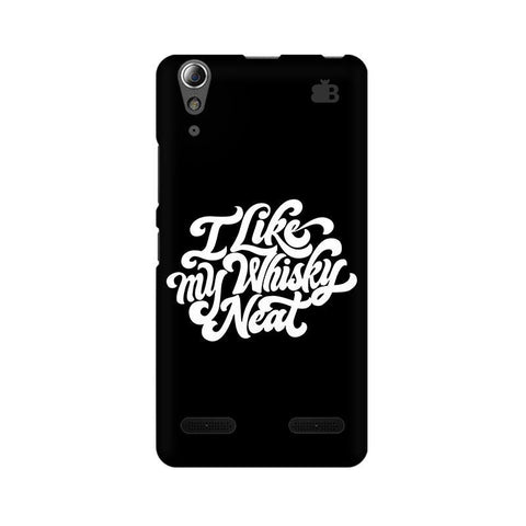 Whiskey Neat Lenovo A6000 Phone Cover