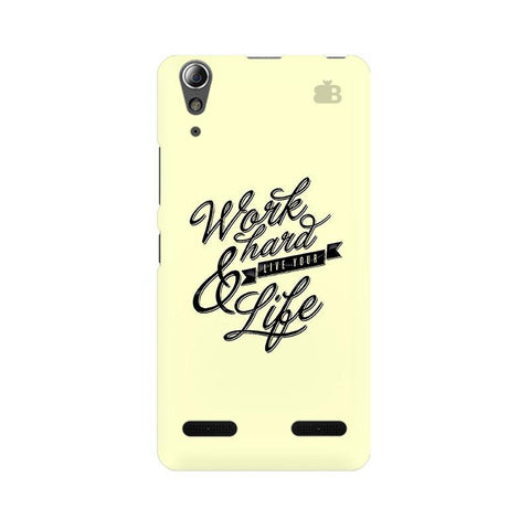 Work Hard Lenovo A6000 Phone Cover