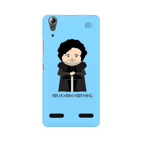 You Know Nothing Lenovo A6000 Phone Cover