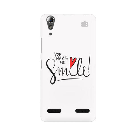 You make me Smile Lenovo A6000 Phone Cover
