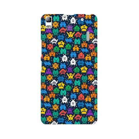 16 Bit Pattern Lenovo A7000 Phone Cover
