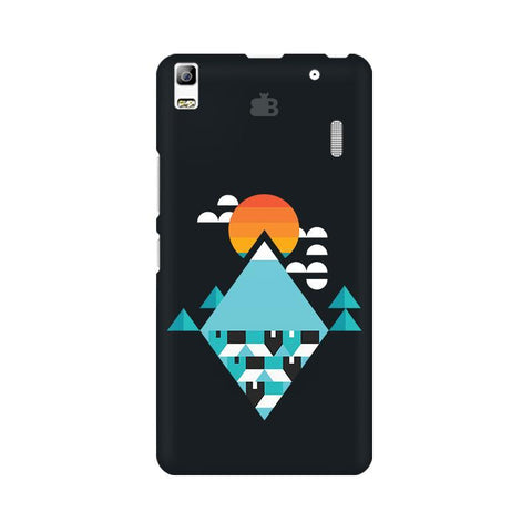 Abstract Mountains Lenovo A7000 Phone Cover