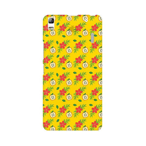 Apples & Flowers Lenovo A7000 Phone Cover