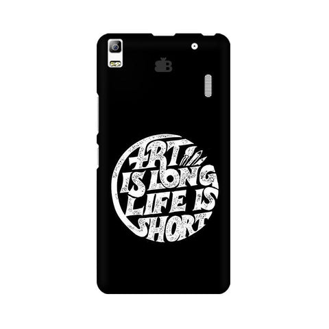Art is Long Lenovo A7000 Phone Cover