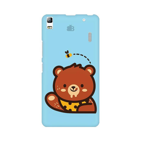 Bear Loves Honey Lenovo A7000 Phone Cover