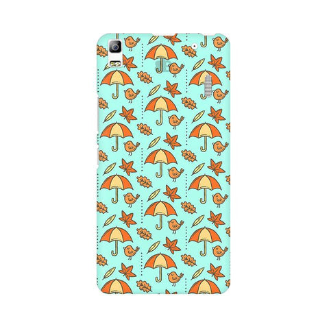 Birds & Umbrellas Lenovo A7000 Phone Cover