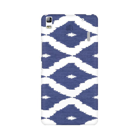 Blue Ikat Lenovo A7000 Phone Cover