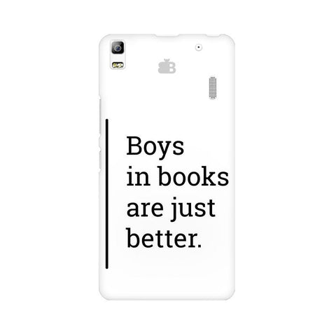 Boys in Books Lenovo A7000 Phone Cover