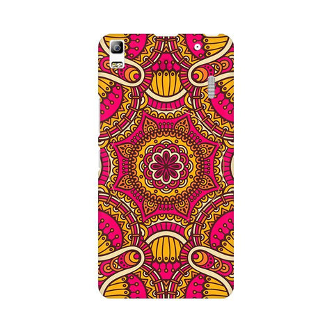 Colorful Ethnic Art Lenovo A7000 Phone Cover