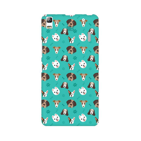 Doggie Pattern Lenovo A7000 Phone Cover