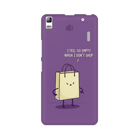Empty not shopping Lenovo A7000 Phone Cover
