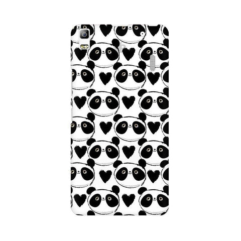 Happy Panda Pattern Lenovo A7000 Phone Cover