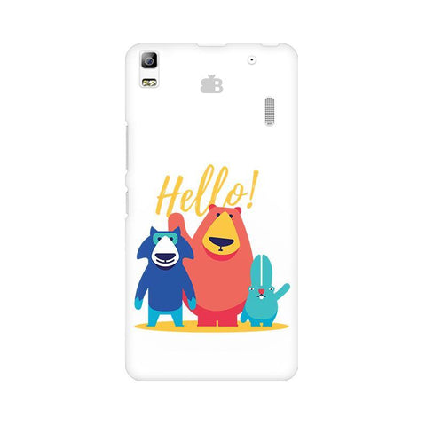 Hello Lenovo A7000 Phone Cover