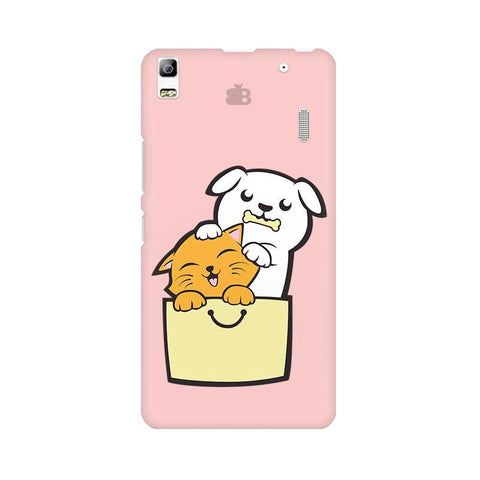 Kitty Puppy Buddies Lenovo A7000 Phone Cover