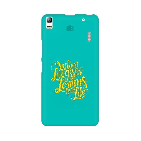 Life gives Lemons Lenovo A7000 Phone Cover