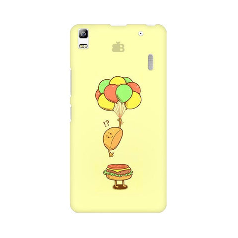 Light Burger Lenovo A7000 Phone Cover