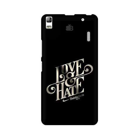 Love & Hate Lenovo A7000 Phone Cover