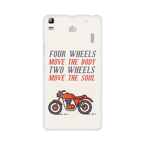 Motorcyclist Lenovo A7000 Phone Cover