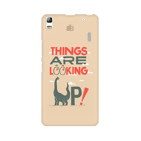 Things are looking Up Lenovo A7000 Phone Cover