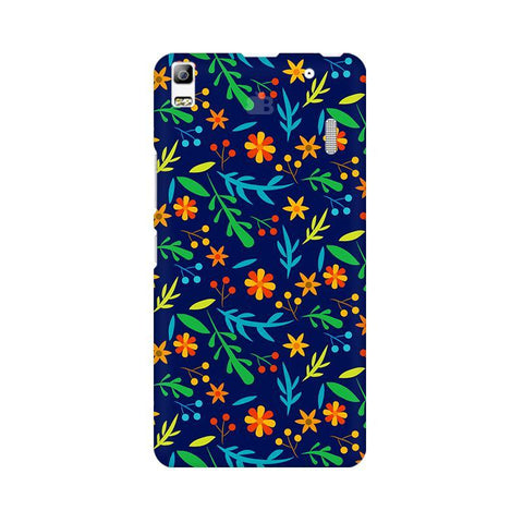 Vibrant Floral Pattern Lenovo A7000 Phone Cover