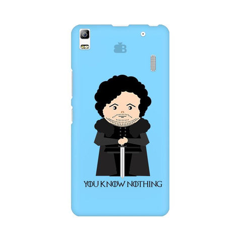 You Know Nothing Lenovo A7000 Phone Cover
