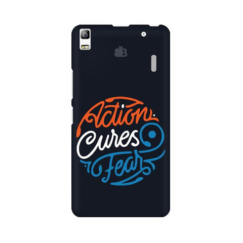 Action Cures Fear Lenovo K3 Note Phone Cover