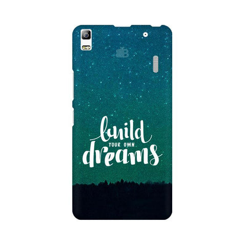 Build your own Dreams Lenovo K3 Note Phone Cover