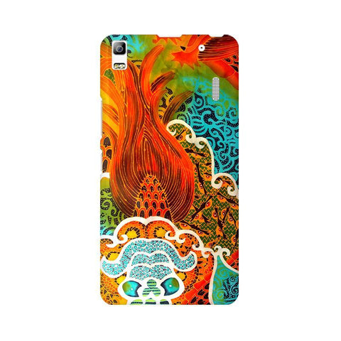 Colorful Batik Art Lenovo K3 Note Phone Cover
