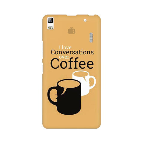 Convos over Coffee Lenovo K3 Note Phone Cover