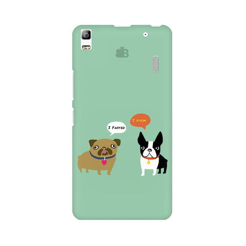 Cute Dog Buddies Lenovo K3 Note Phone Cover