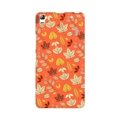 Cute Leaves Pattern Lenovo K3 Note Phone Cover