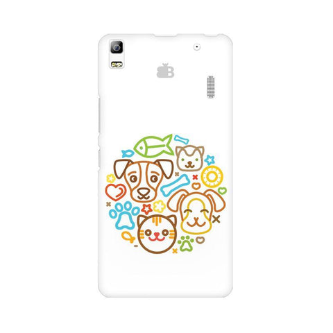 Cute Pets Lenovo K3 Note Phone Cover