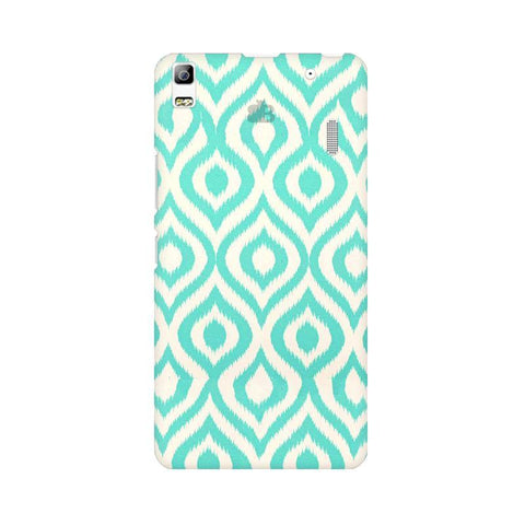 Cyan Ikat Lenovo K3 Note Phone Cover