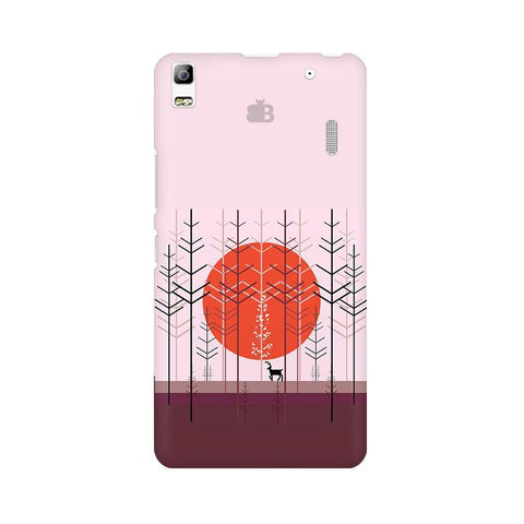 Deer in Forest Lenovo K3 Note Phone Cover