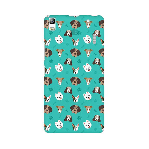 Doggie Pattern Lenovo K3 Note Phone Cover