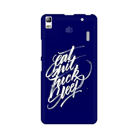 Eat Sleep Lenovo K3 Note Phone Cover