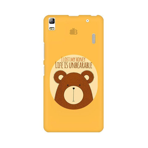 Life is Unbearable Lenovo K3 Note Phone Cover