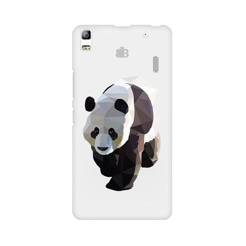 Low Poly Panda Lenovo K3 Note Phone Cover