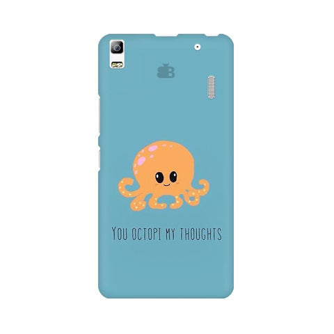 Octopi Thoughts Lenovo K3 Note Phone Cover