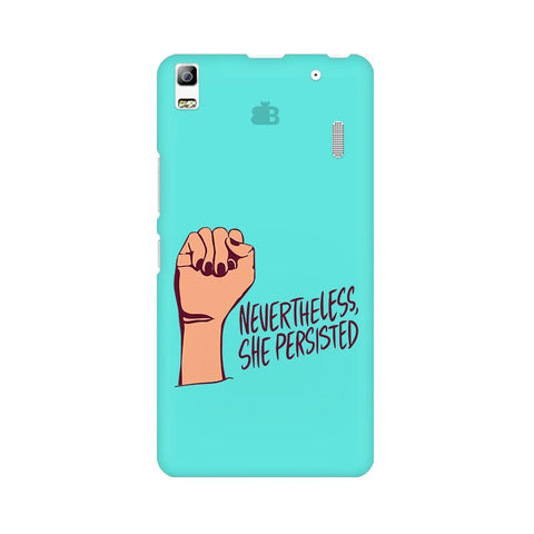 She Persisted Lenovo K3 Note Phone Cover