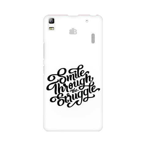 Smile through the Struggle Lenovo K3 Note Phone Cover