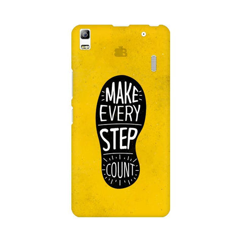 Step Count Lenovo K3 Note Phone Cover
