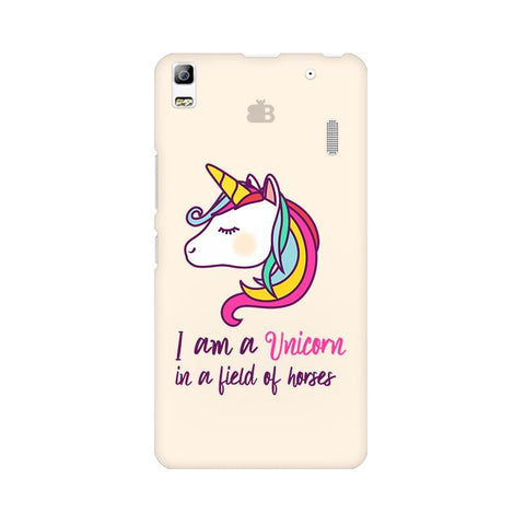 Unicorn in Horses Lenovo K3 Note Phone Cover